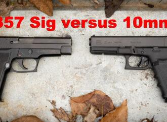 10mm vs. 357 Sig