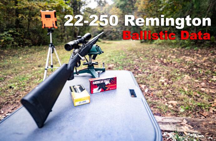 22-250 Ballistics