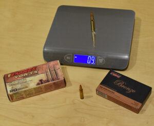 .308 ammo weight vs. .223 ammo weight