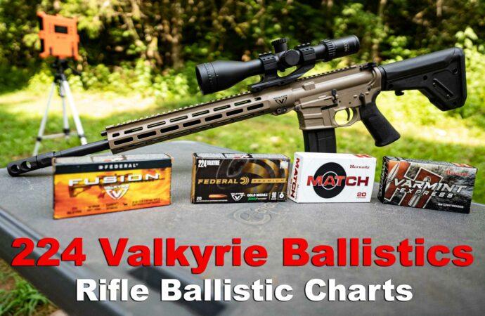 224 Valkyrie Ballistics