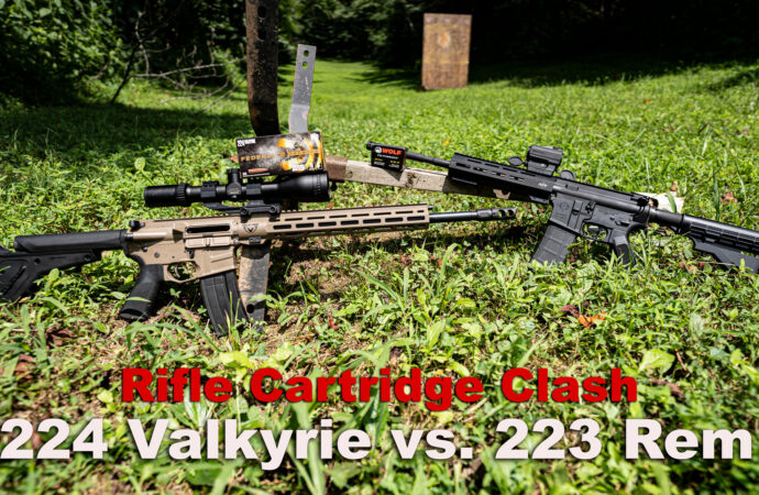 224 Valkyrie vs 223 Remington