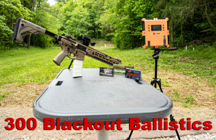 300 Blackout Ballistics
