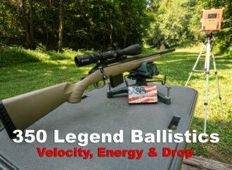 350 Legend Ballistics
