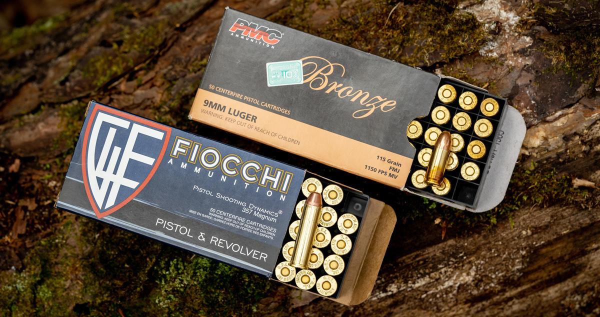 357 magnum ammo vs 9mm ammo