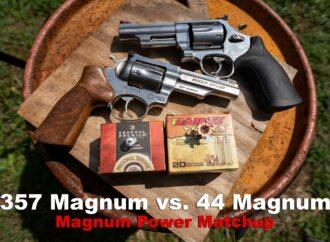 357 Magnum vs 44 Magnum