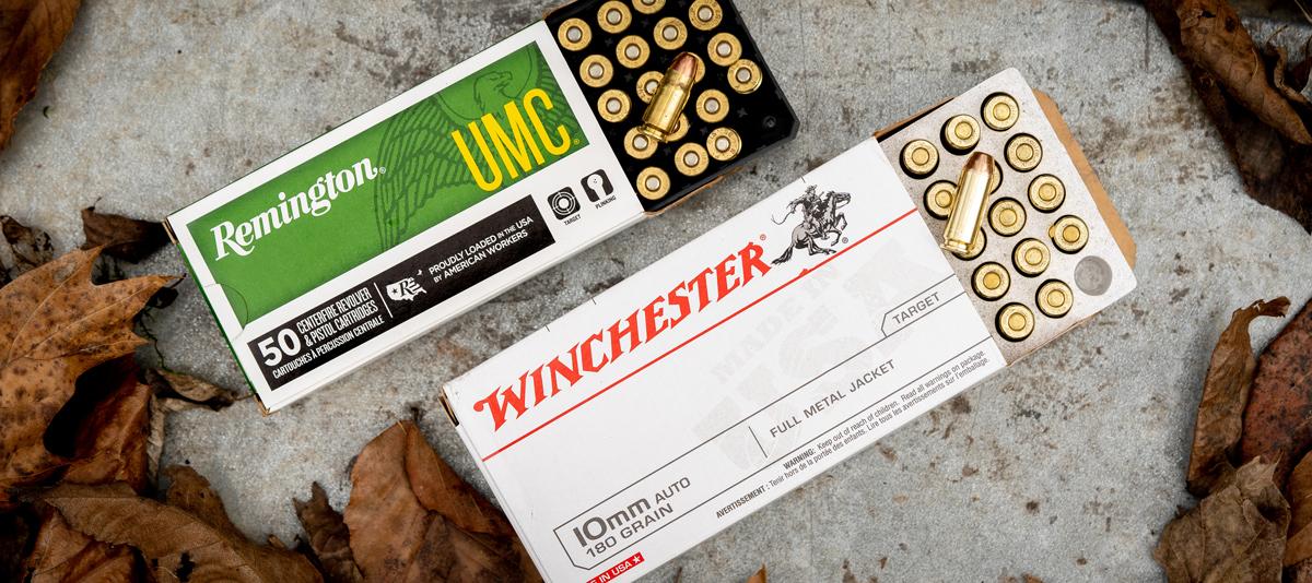 357 sig ammo vs 10mm ammo