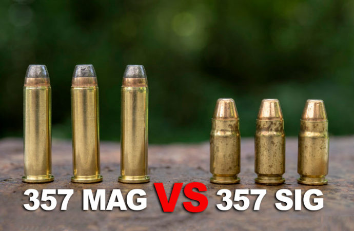 357 Sig vs. 357 Magnum – What's the Difference?