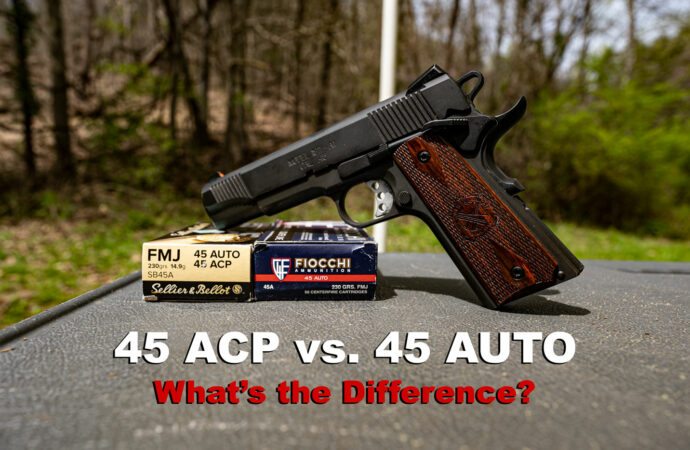 45 Auto vs. 45 ACP: What's the Difference?