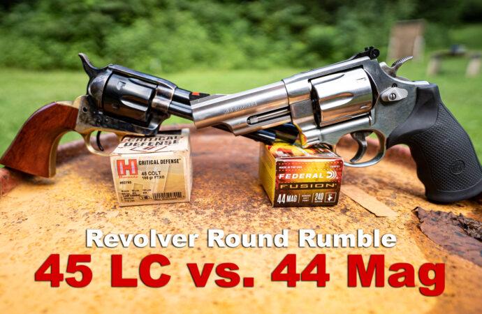 45 Long Colt vs 44 Magnum