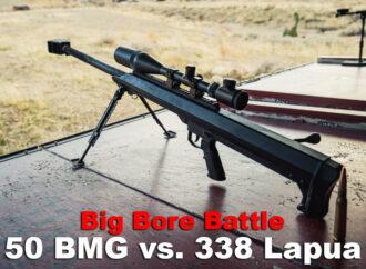 338 Lapua vs. 50 BMG