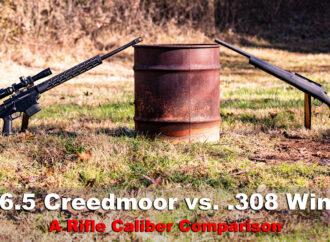 6.5 Creedmoor vs .308 – A Rifle Caliber Comparison