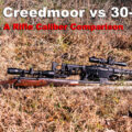 6.5 Creedmoor rifle vs .30-06 springfield rifle