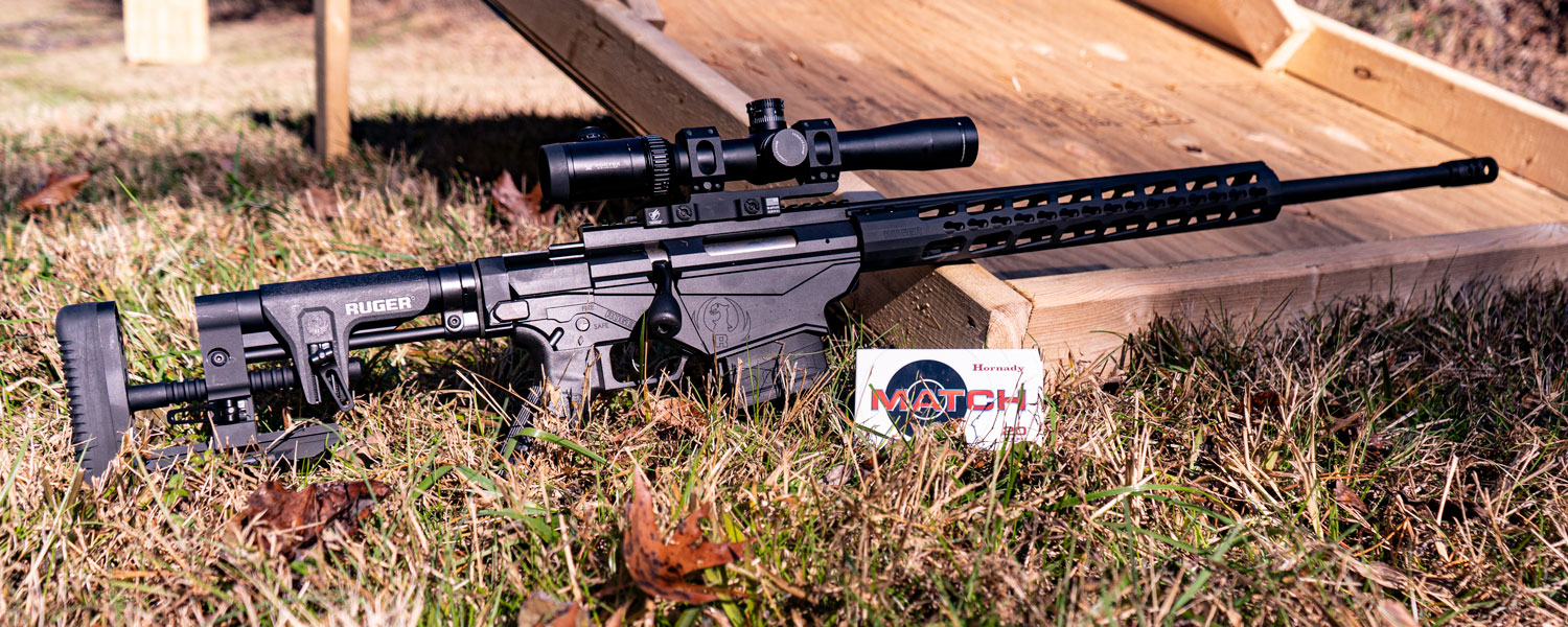 6.5 Creedmoor rifle made by Ruger