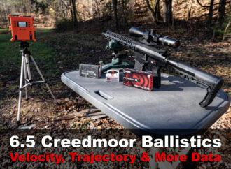 6.5 Creedmoor Ballistics