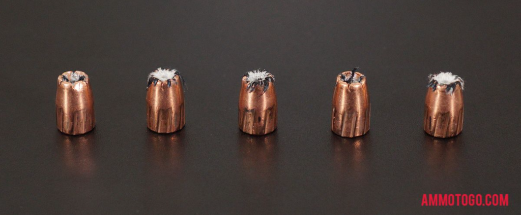 9mm Speer Gold Dot Test Rounds