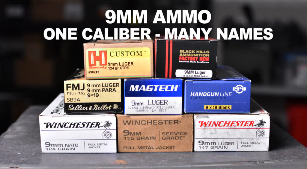 9mm vs  9mm Luger, 9x19 and More! The Many Names of 9mm Ammo