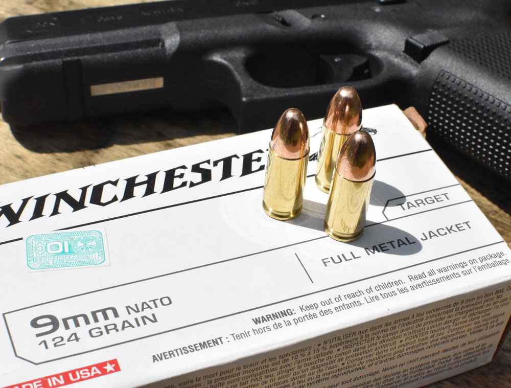 9mm M8882 ammo with a glock