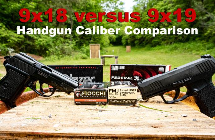 9×18 vs 9×19 – Makarov versus Luger