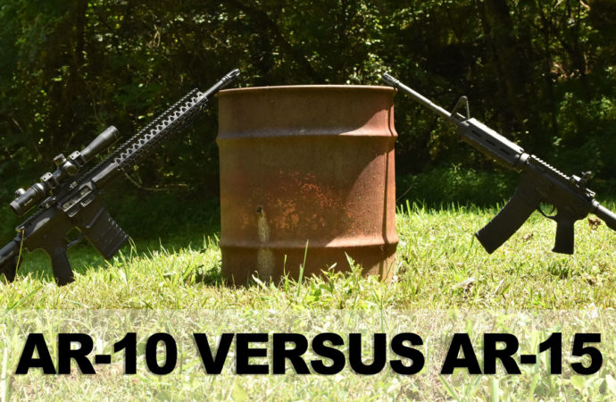 AR-10 vs AR-15 – What Should You Shoot?