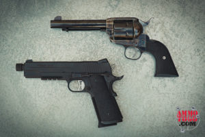 Single Action Revolver and Pistol