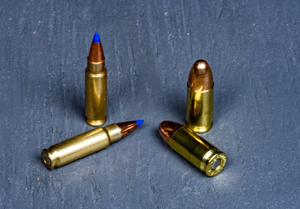 comparing 5.7x28 to 9mm ammo