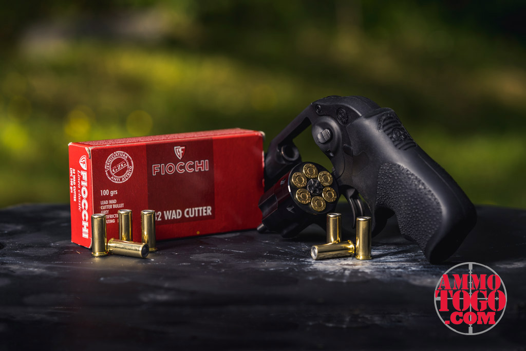 32 ACP wadcutter ammo with ruger LCP handgun