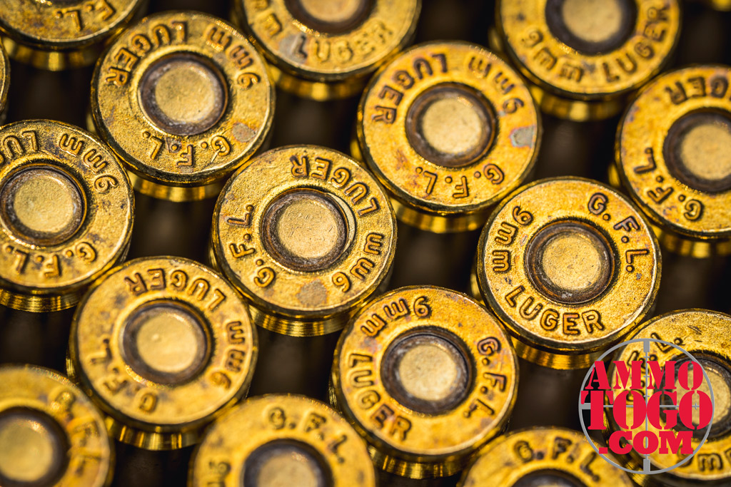 photo of 9mm luger ammo