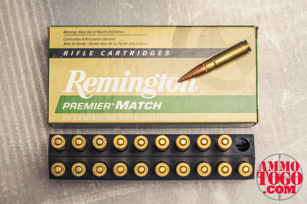 photo of remington 300 aac blackout ammo on a steel plate