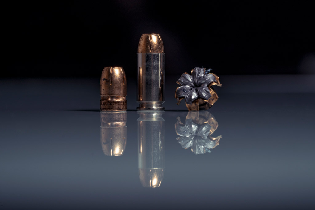 photo of Federal Premium Tactical .40 JHP ammo compared
