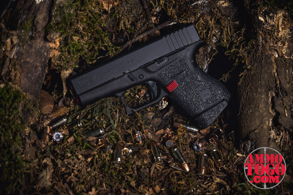 photo of glock 43 outside