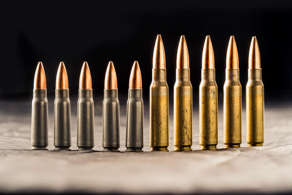 photo of 7.62 ammo and .308 ammo