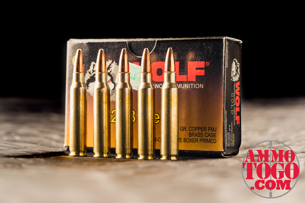 photo of wold 223 ammo