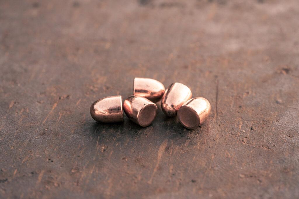 Pulled total metal jacket bullets