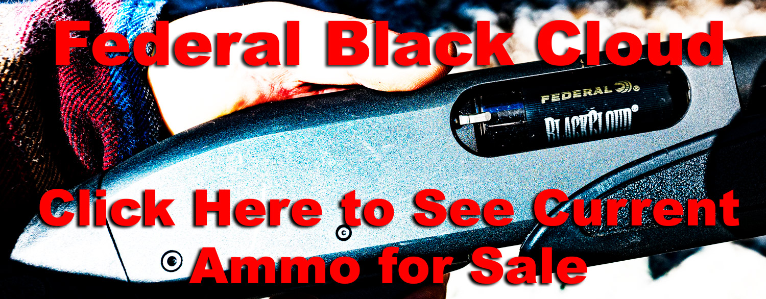 Federal Black Cloud Ammo for Sale