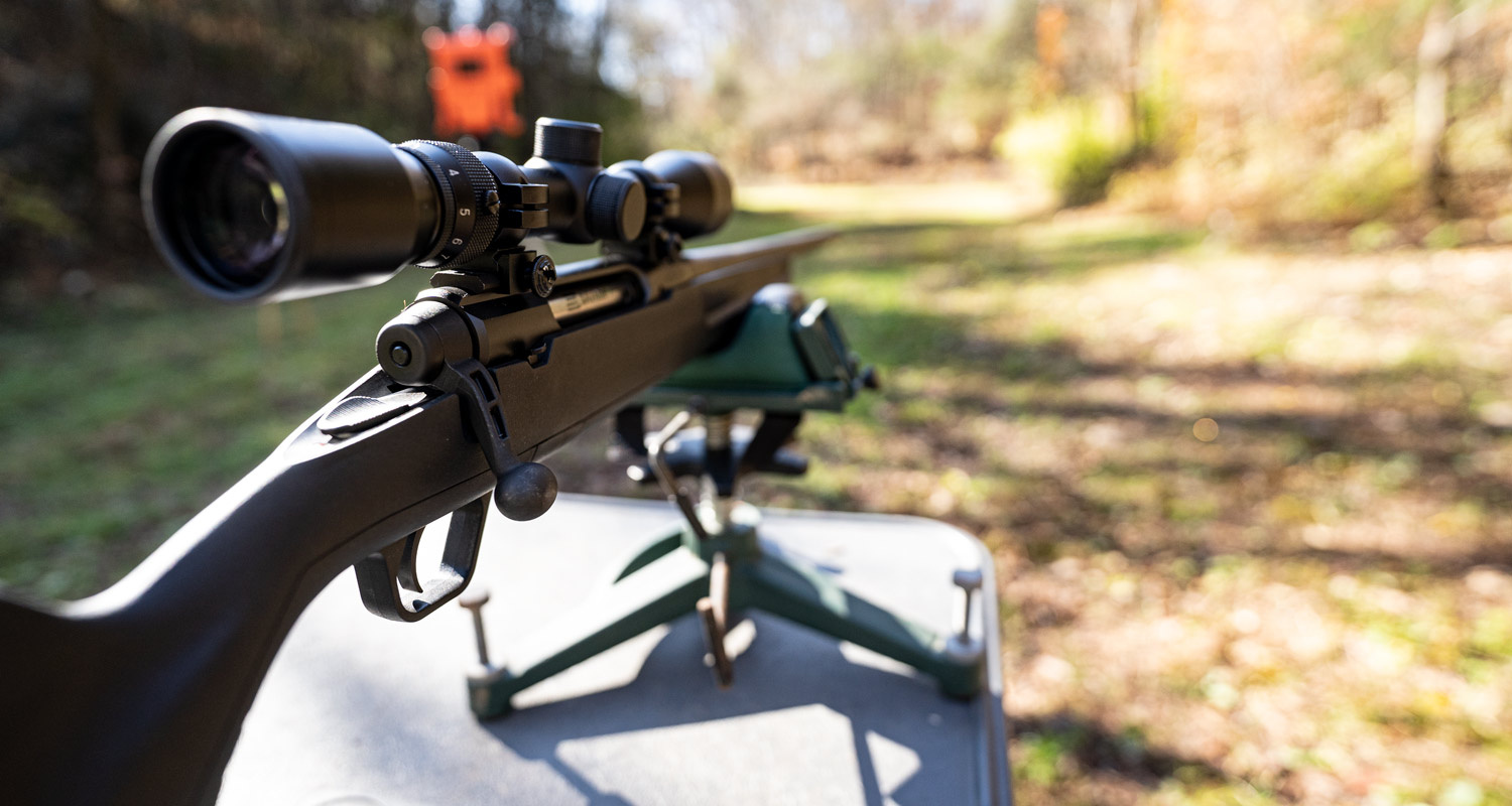 Shooting a bolt action 22-250 rifle