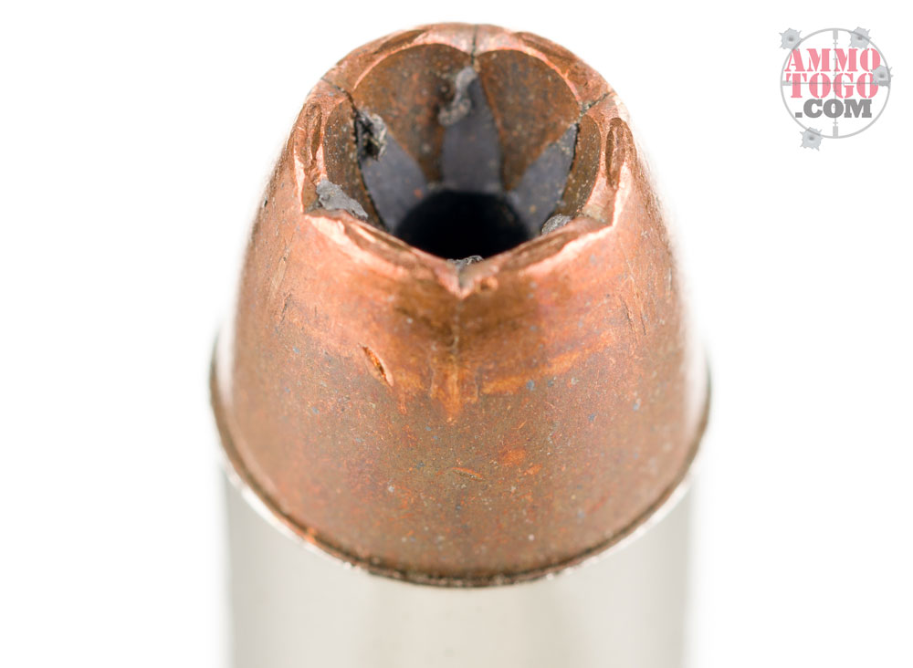 Bonded pistol ammunition - single round