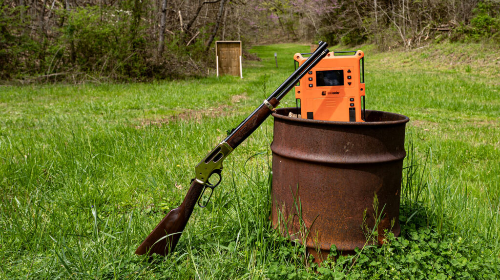 Chronograph testing Hornady LeveRevolution ammo