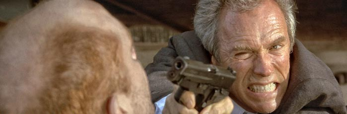 Clint Eastwood Sig Sauer In the Line of Fire