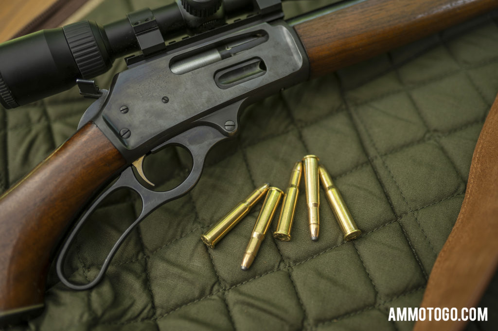 Marlin model 336 rifle with 30-30 winchester ammo