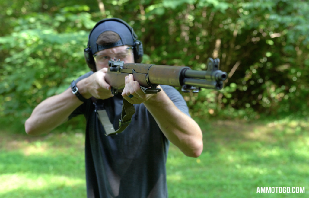 Shooting an M1 garand for a 30-30 vs. 30-06 comparison