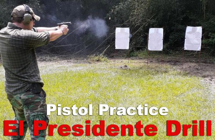 El Presidente Drill – Assessing Your Shooting Skills