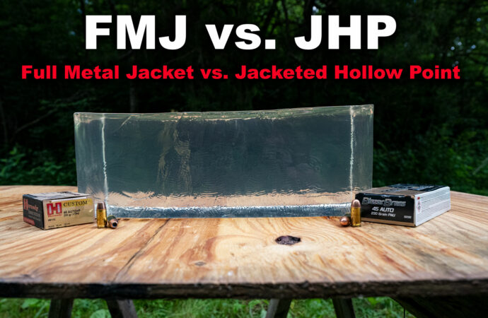 FMJ vs. JHP