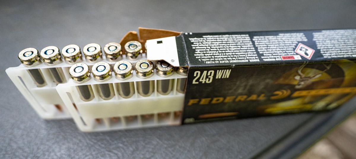 Federal 243 win ammunition