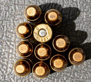 Federal American Eagle ammunition on a table