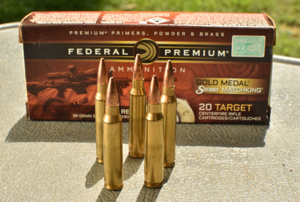 Match grade ammo from Federal