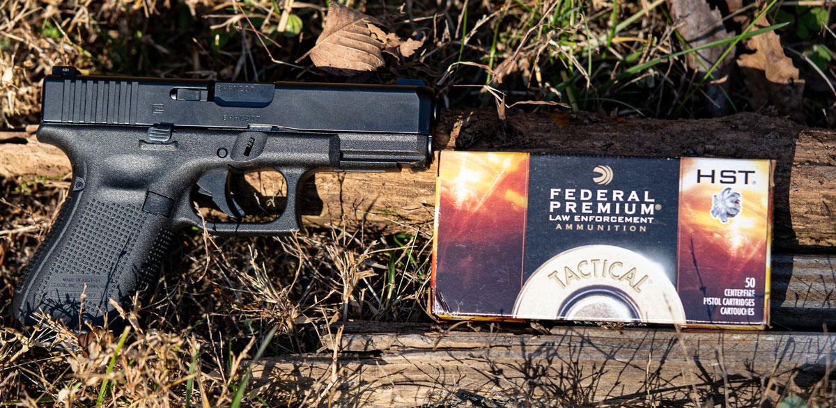 Glock 19 9mm pistol