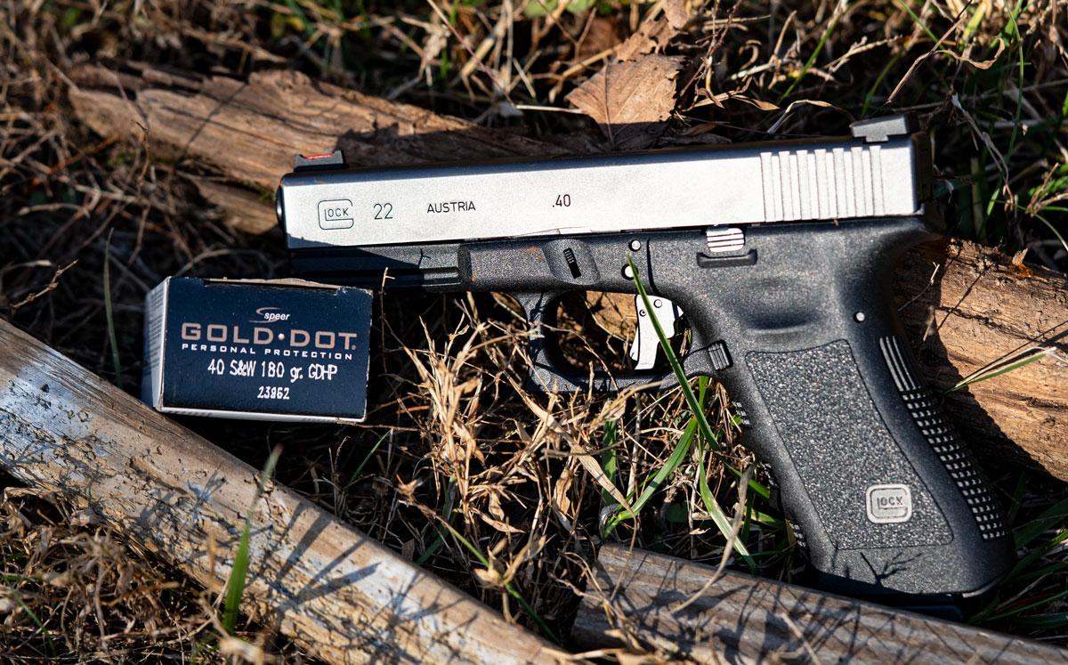 Glock 22 40 S&W pistol