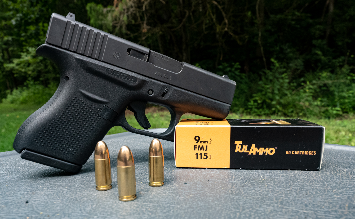 Glock 9mm with Tula ammo