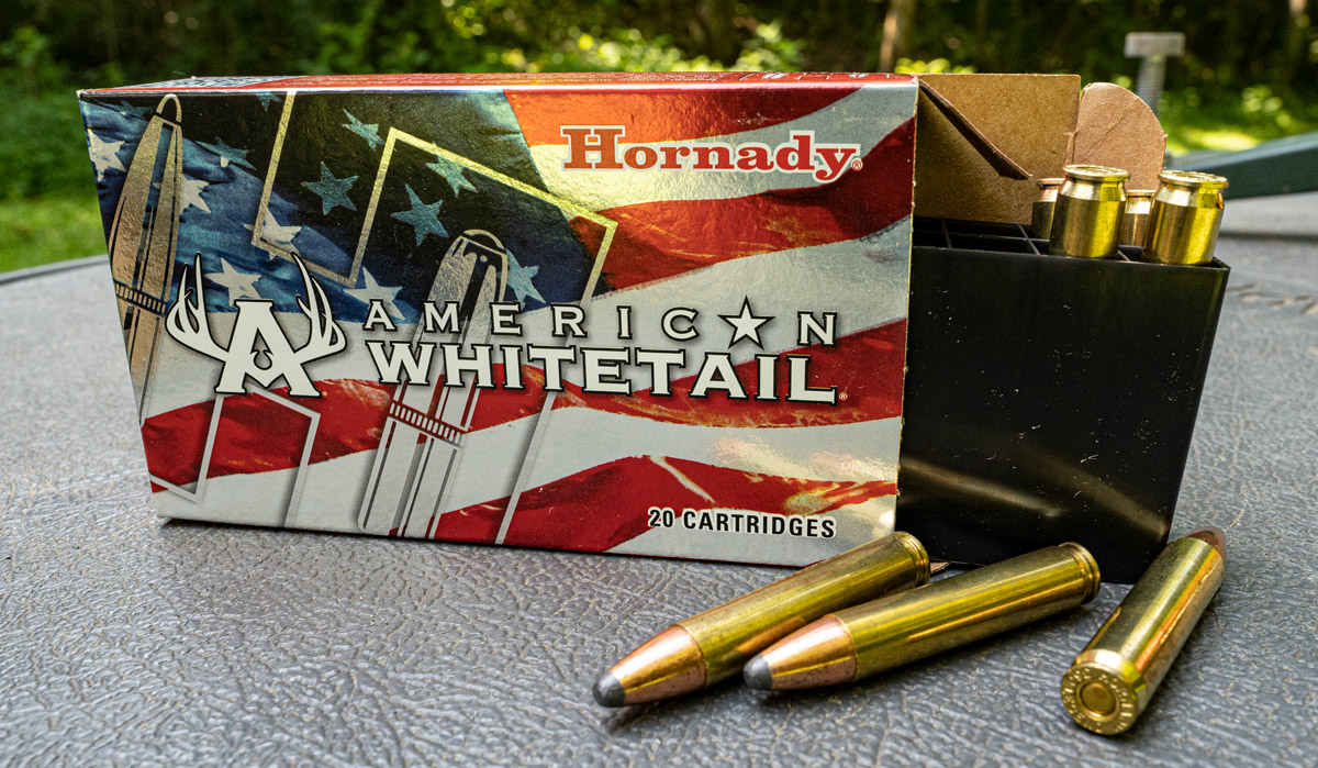 Hornady American Whitetail 350 Legend ammo
