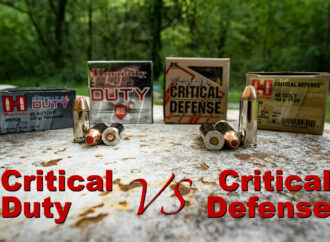 Hornady Critical Defense vs. Critical Duty